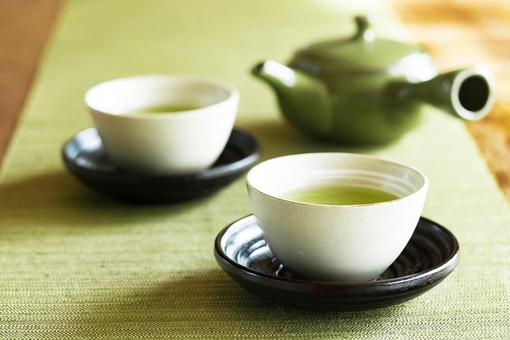 お茶で癒しのひとときを